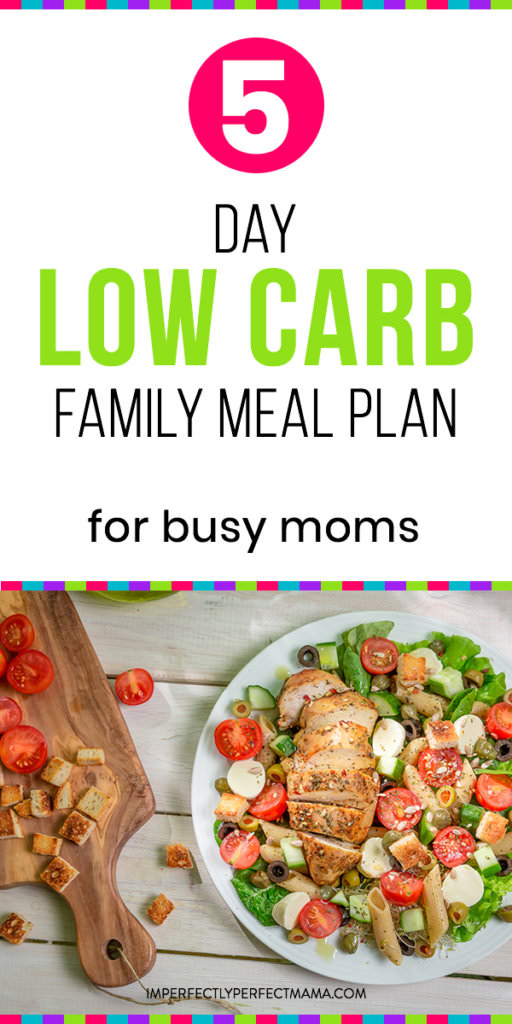 Low Carb Dinner Meal Plan