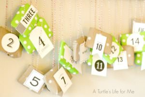Advent Calendar by A Turtle's Life For Me