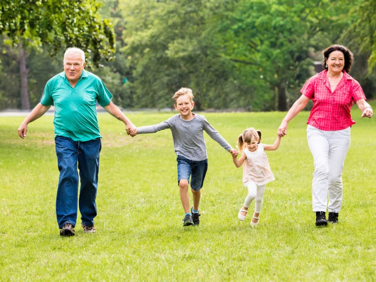 The Important Bond Between Children and Grandparents