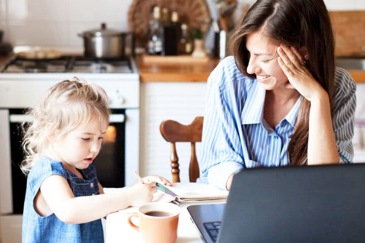 How to Make Time for Yourself When You're a Busy Work-at-home Mom